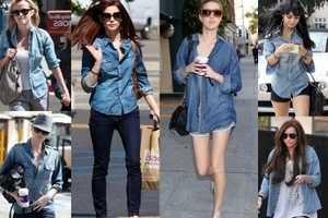 З чим носити джинсову сорочку (жіночу)  - Секрети краси 3413f46e222b2